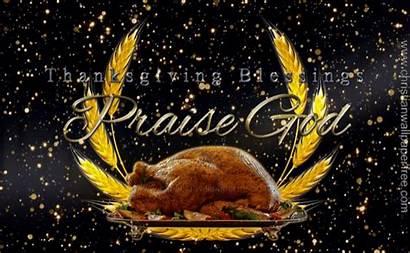 Thanksgiving Christian Blessings Praise Happy Gifs Backgrounds
