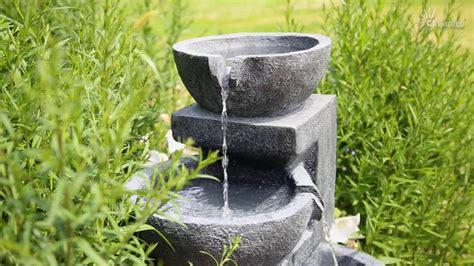 Springbrunnen Für Terrasse by Clgarden 174 Solar Springbrunnen Nsp12 F 252 R Garten Terrasse