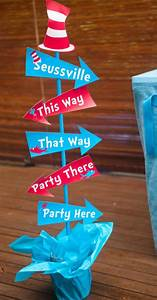 Kara's Party Ideas Dr Seuss themed party baby shower party