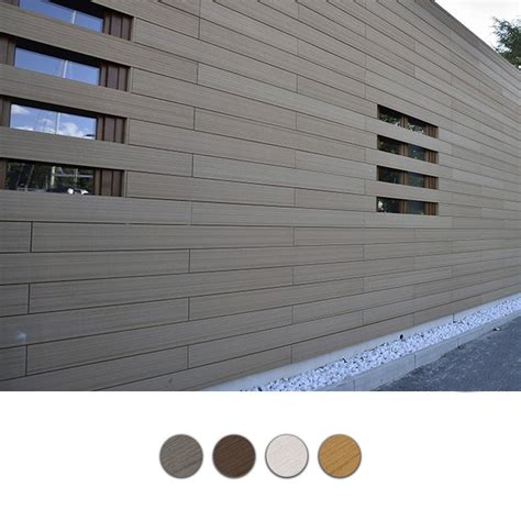 rivestimenti legno per esterni listello per rivestimenti esterni in wpc legno composito