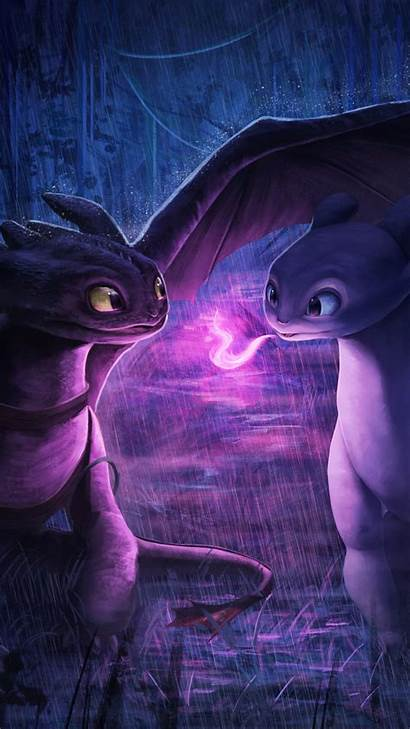 Dragon Dragons Fury Night Animation Wallpapers Iphone