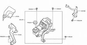 Infiniti Qx60 Power Steering Pump Mounting Bolt