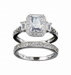 Wedding sets avon sterling silver wedding sets for Avon wedding rings