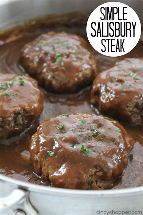 easy family dinner recipes salisbury steak other and