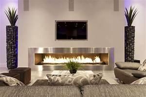 Bioethanol Kamin Bilder : wie ein modernes wohnzimmer aussieht 135 innovative ~ Lizthompson.info Haus und Dekorationen