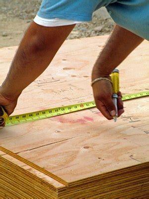 prepare  floor surface  luan  vinyl floor