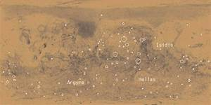 Printable Map of Planet Mars - Pics about space