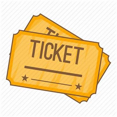 Ticket Cartoon Cinema Transparent Clipart Sign Icon