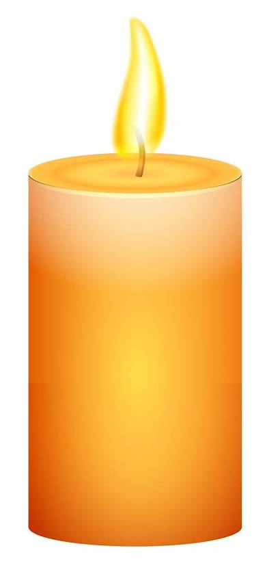 Transparent Candles Clip Clipart Candle Burning Flame