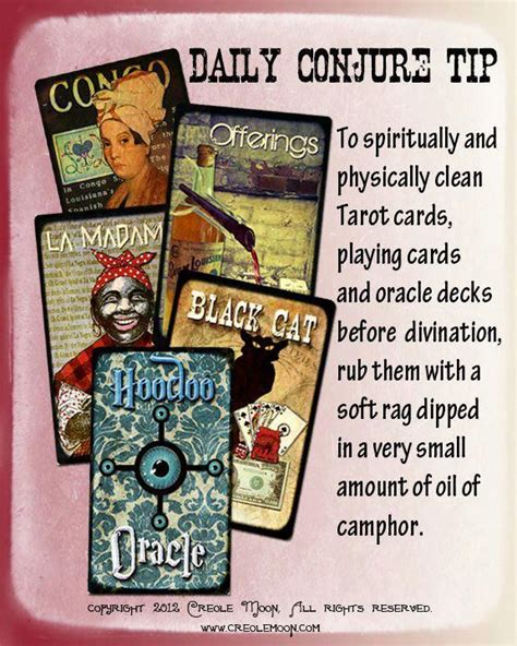 The family is equivalent to the court cards in standard tarot decks. Hoodoo Magick Rootwork: Daily #Conjure Tip.   The conjuring, Tarot, Hoodoo conjure
