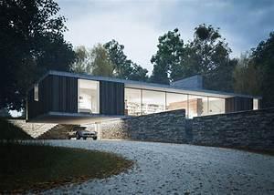 Maison Architecte Plain Pied : une maison design d 39 architecte plain pied en angleterre blog archionline ~ Melissatoandfro.com Idées de Décoration