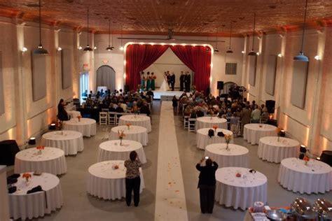 ceremony reception same room idea wedding indoor