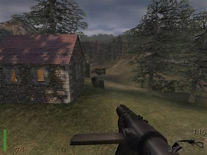 Wolfenstein Castle Return Rtcw Sten Games Submachine