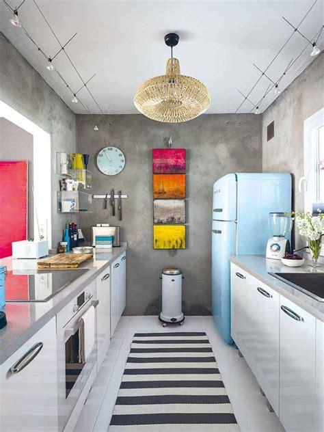 modern galley kitchen ideas best 25 modern retro ideas on