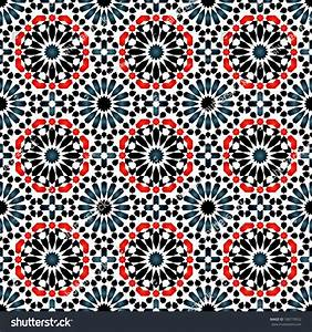 Vector, Of, Islamic, Pattern