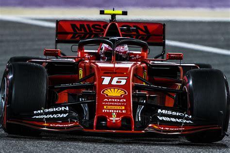 leclerc seals maiden  pole  bahrain speedcafe