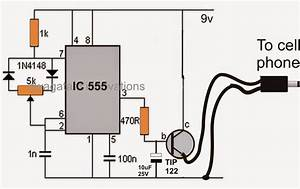 Simple Pwm Controlled Dc To Dc Cell Phone Charger Circuit  U2013 Science Fair Project