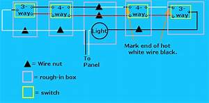 3 Way Switch Wiring Diagrams Variations