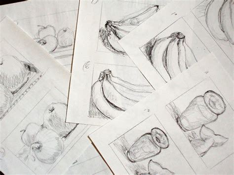 drawing exercises life  art  karen koch