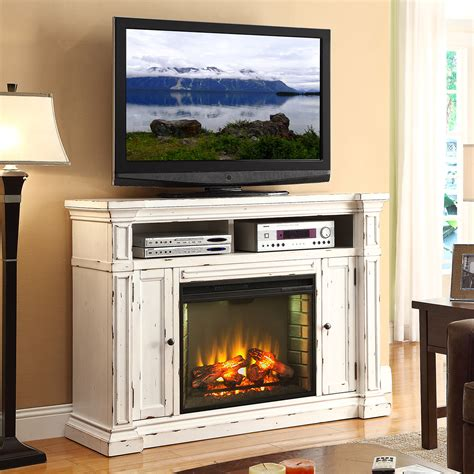 white fireplace tv stand legends furniture znca 1900 new castle 58 quot fireplace media