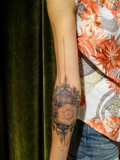 lengan atas  template tato ide forearm