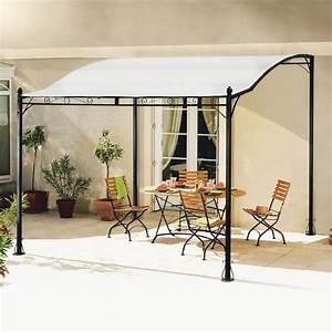 auvent de terrasse 3x250m jardin piscine With auvent de jardin en toile