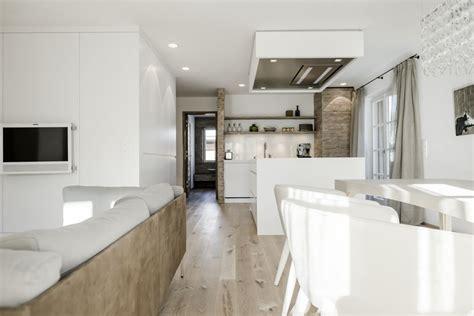 offene kuche wohnzimmer einrichtung grundriss esszimmer