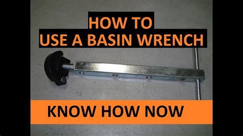 Tighten Kitchen Faucet Basin Wrench ? Wow Blog