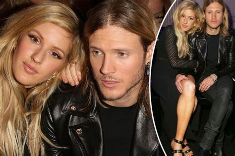 Ellie Goulding and Dougie Poynter can't keep their hands ...
