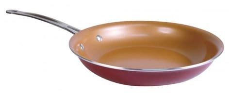 gotham steel  red copper     pan