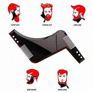 hot 1pcs high quality beard shaping styling With goatee trimming template
