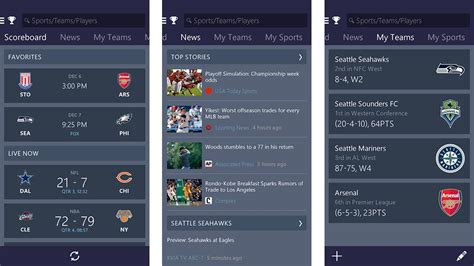 best sports app for android 10 best sports news apps for android android authority