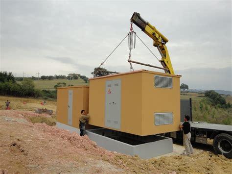 cabine elettriche media tensione cabine elettriche prefabbricate disegni cutini