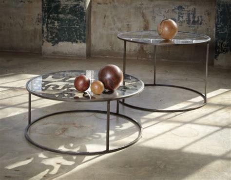 Recycled Scrap Metal In Modern Design Tables Sesshu