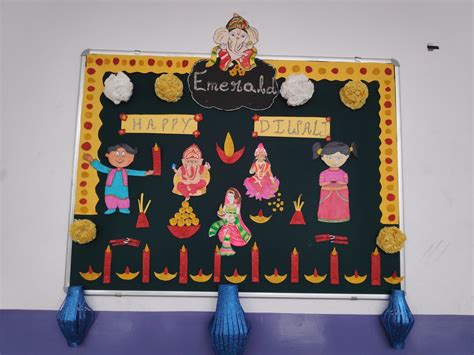 bulletin board decoration ideas  diwali dussehra