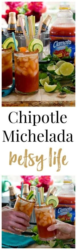 Chipotle Michelada. A fun beer cocktail recipe made with ...