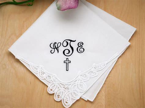 monogram m handkerchiefs initial handkerchief monogrammed m memorial monogrammed handkerchief w 3 initials cross font j