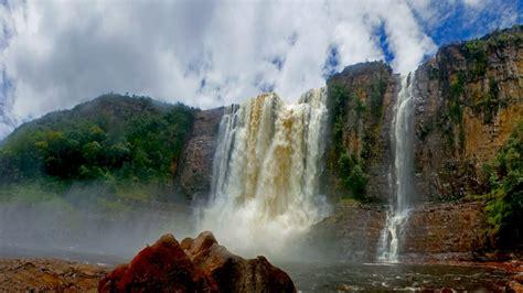 angel falls guayana canaima national park venezuela hd