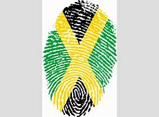 Jamaica Flag Fingerprint · Free image on Pixabay