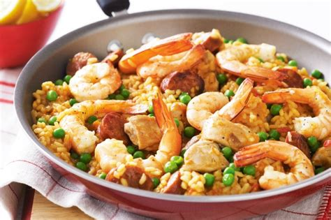easy cuisine recipes easy paella recipe taste com au