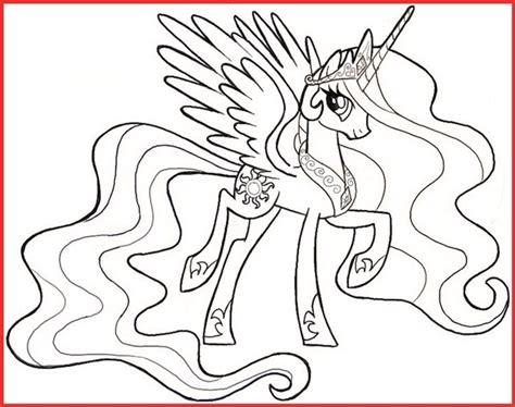 ausmalbilder my pony prinzessin celestia rooms project rooms project