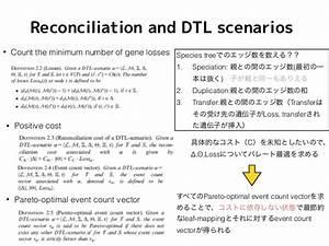 ISMB : Pareto-optimal phylogenetic tree reconciliation