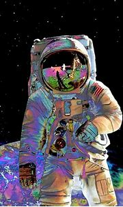 Visionary Astronaut Art Print 8 x 10 – Outer Space Cosmic ...