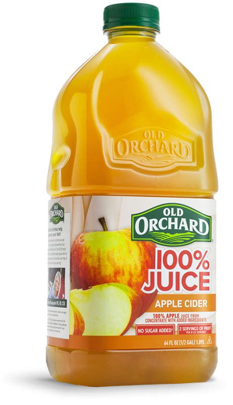 apple cider juice 64oz orchard brands bottles