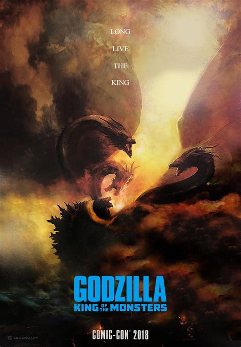 King Of by Godzilla 2 King Of The Monsters Poster Teaser Trailer