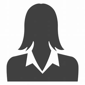 Businesswoman avatar silhouette - Transparent PNG & SVG vector