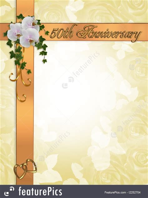 templates  anniversary invitation stock