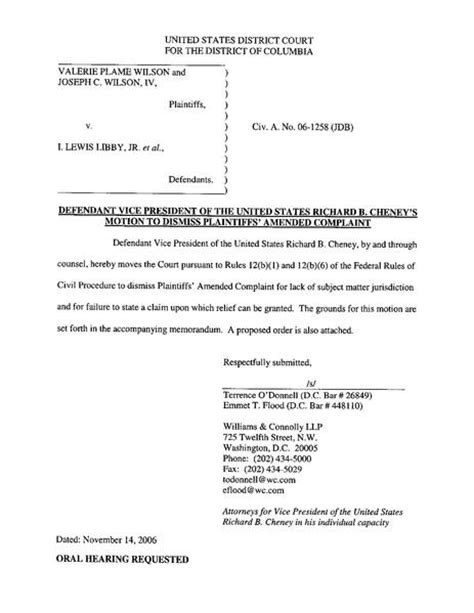 File:Defendant Cheney's motion to dismiss.pdf