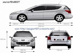 Dimension 2008 Peugeot : billedresultat for dimension peugeot 407 sw sweet stuffs pinterest peugeot cars and cars ~ Maxctalentgroup.com Avis de Voitures