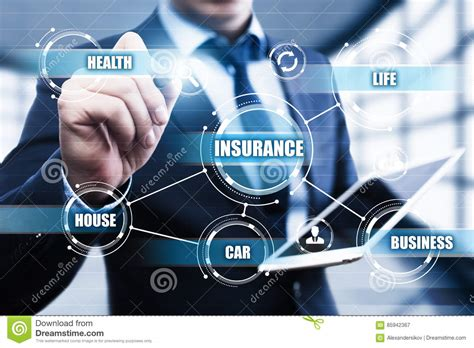 Insurance; Life, Car And Home. Stock Image